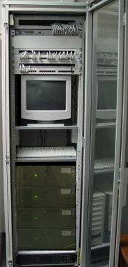 der kleine Serverschrank